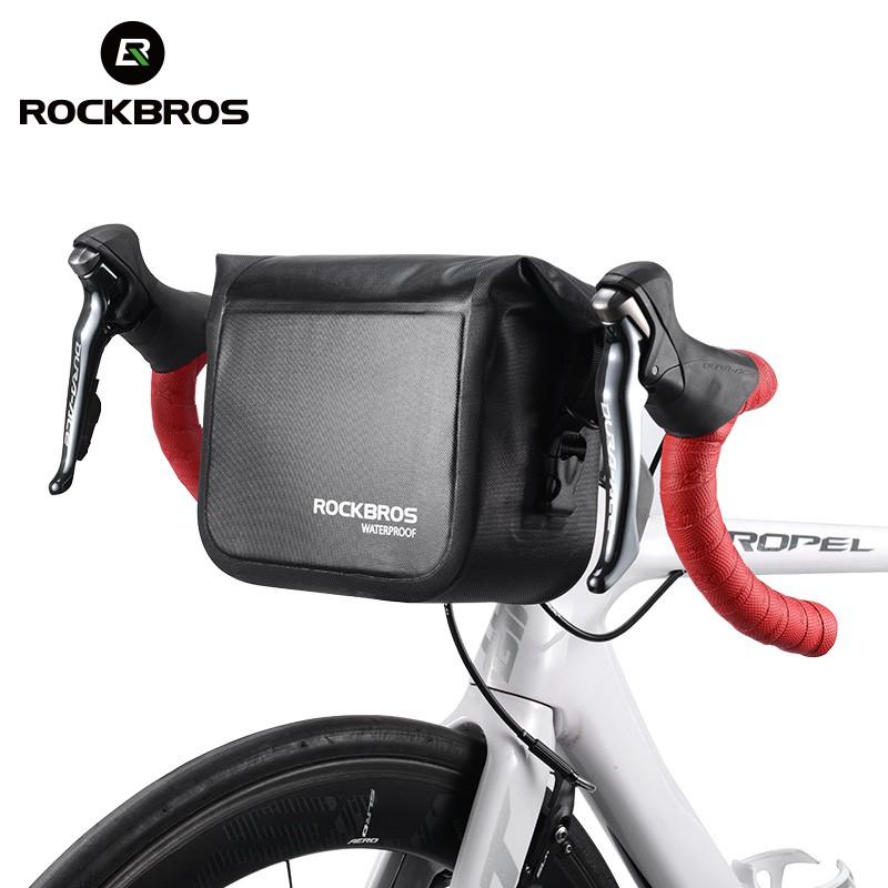 Rockbros Folding Bike Waterproof Front Handlebar Bag Shopee Philippines