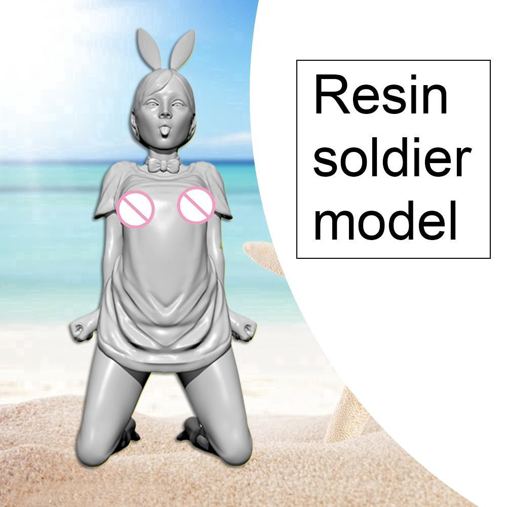 1//35 50MM YUFAN Created Naughty Girl Series Bunny Beauty Soldier TD-201984 Q8Z0