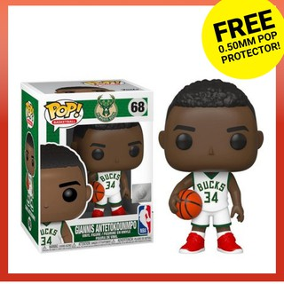 Funko Pop NBA Basketball # 68 Milwaukee Bucks Giannis Antetokounmpo Vinyl Figure