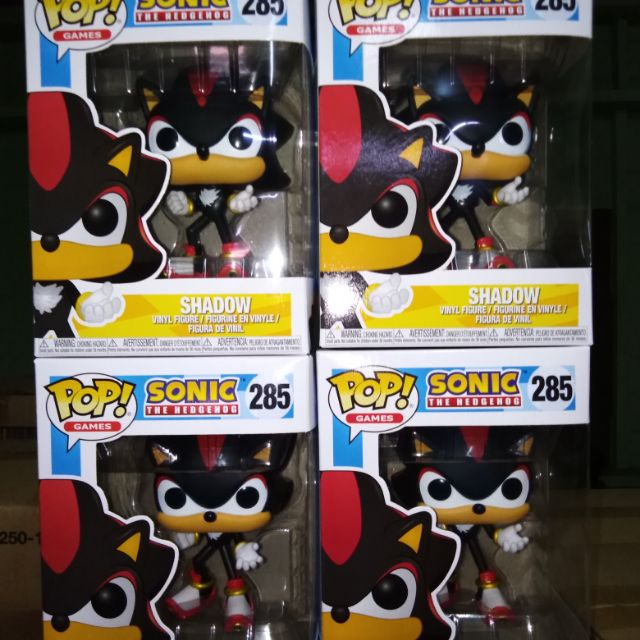 Funko Pop Sonic The Hedgehog Shadow 285 Shopee Philippines