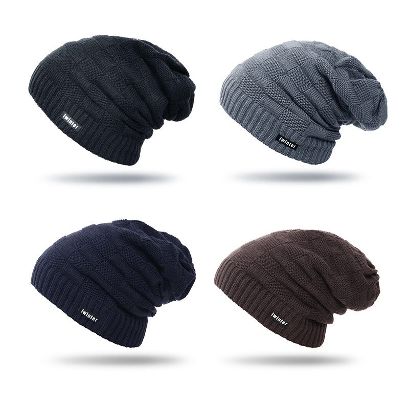 Winter Beanie Hat Scarf Set Warm Knit Thick Knit Skull Cap Men Women Girls  Ski 44d255a70d9