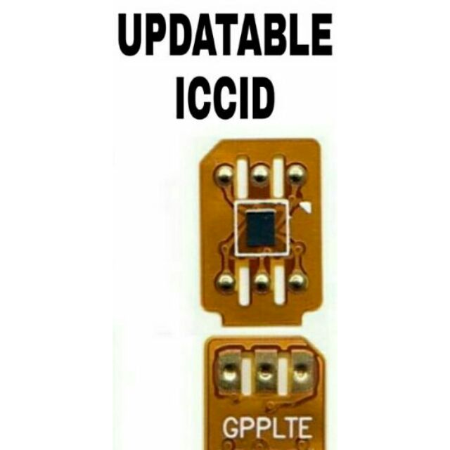 SALE! GPP LTE 4G Chips (Original IC) iPHONE 4 up to iphone X