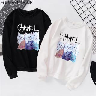 YUNY Men Print Knit Round Neck Plus Velvet Long-Sleeved Pocket Sweatshirt Blue M