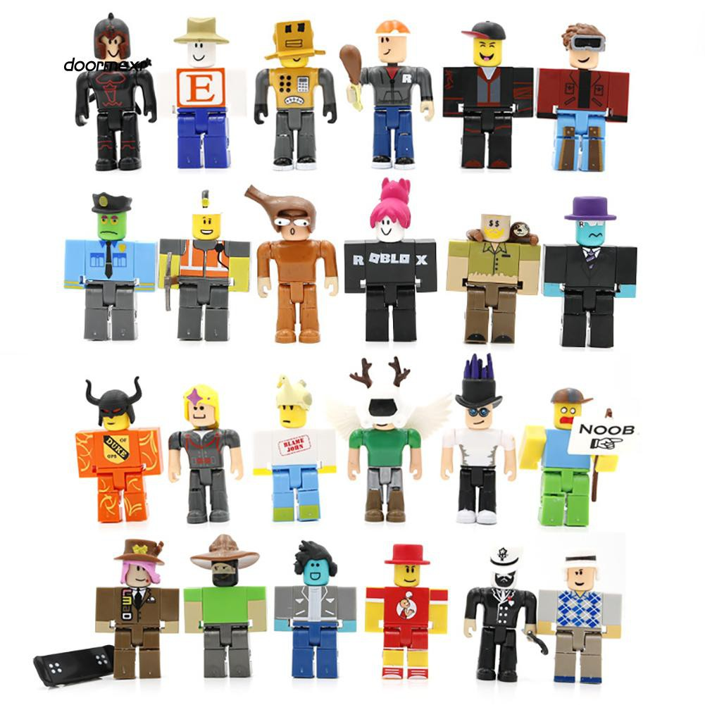Shop Roblox 6 Piece Champions Of Roblox Figure Set Online In 24pcs Roblox Legends Champions Classic Noob Captain Doll Action Figure Toy Gift Shopee Philippines