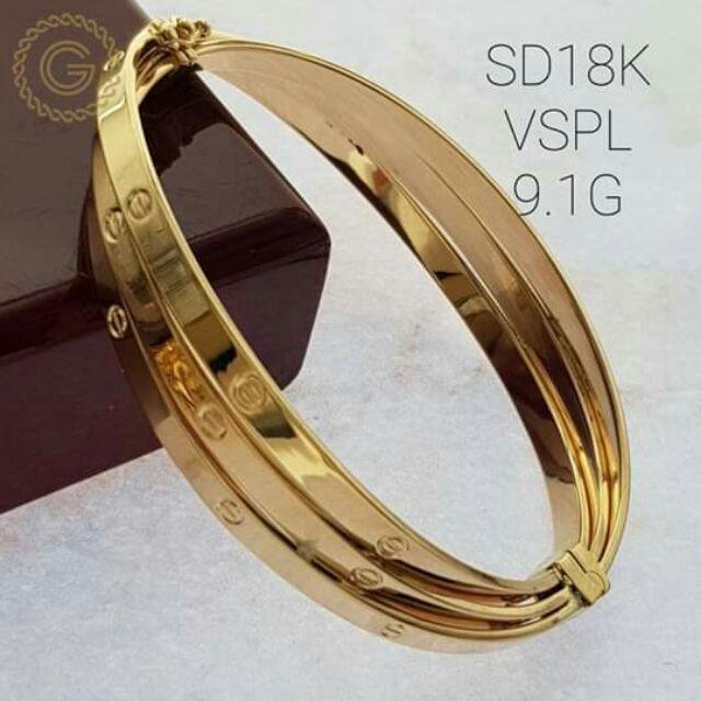 18k Saudi Gold Vspl Authentic Pawnable Price Per Gram Shopee Philippines