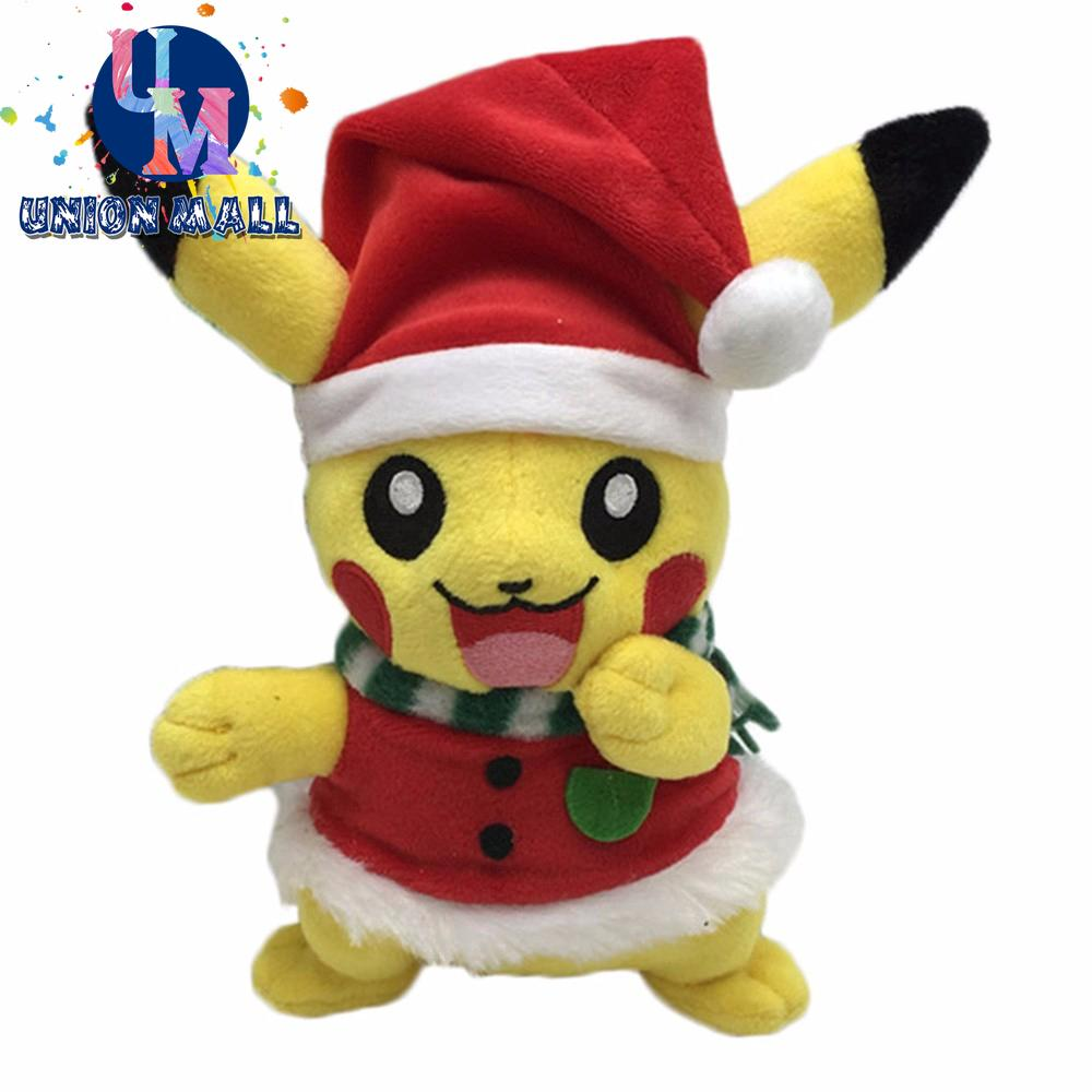 Christmas Pikachu.Christmas Gift Plush Toy 20 Cm Pikachu Series Toy Gifts