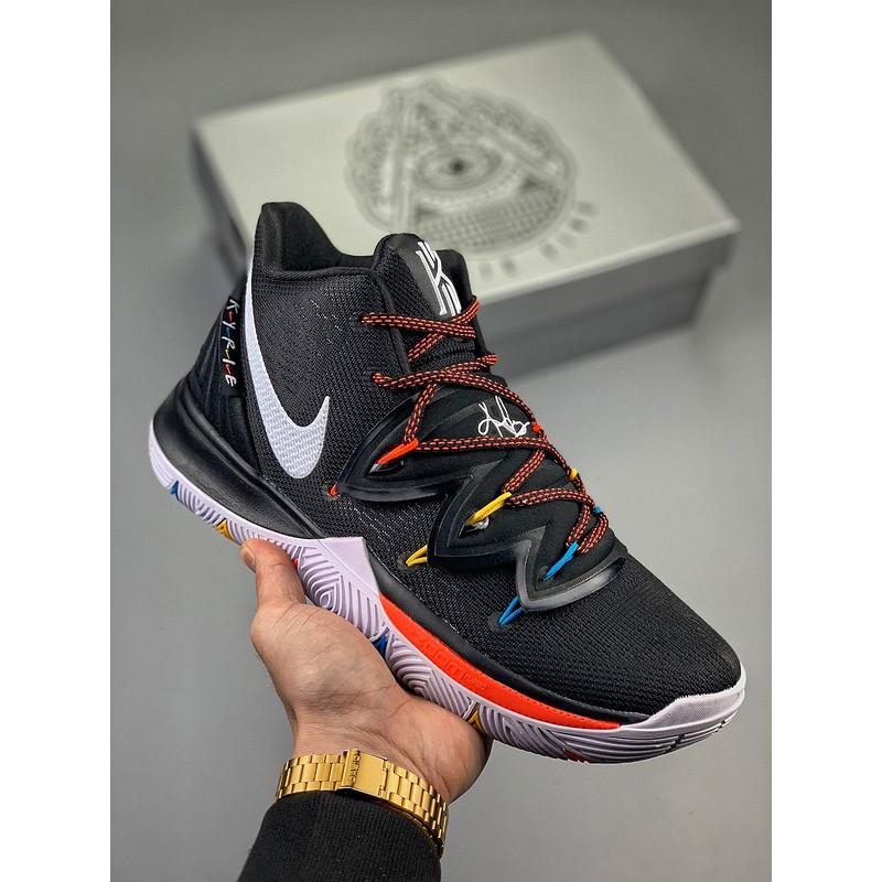 Jual Sepatu Basket Kyrie 5 Be True White Rainbow Putih