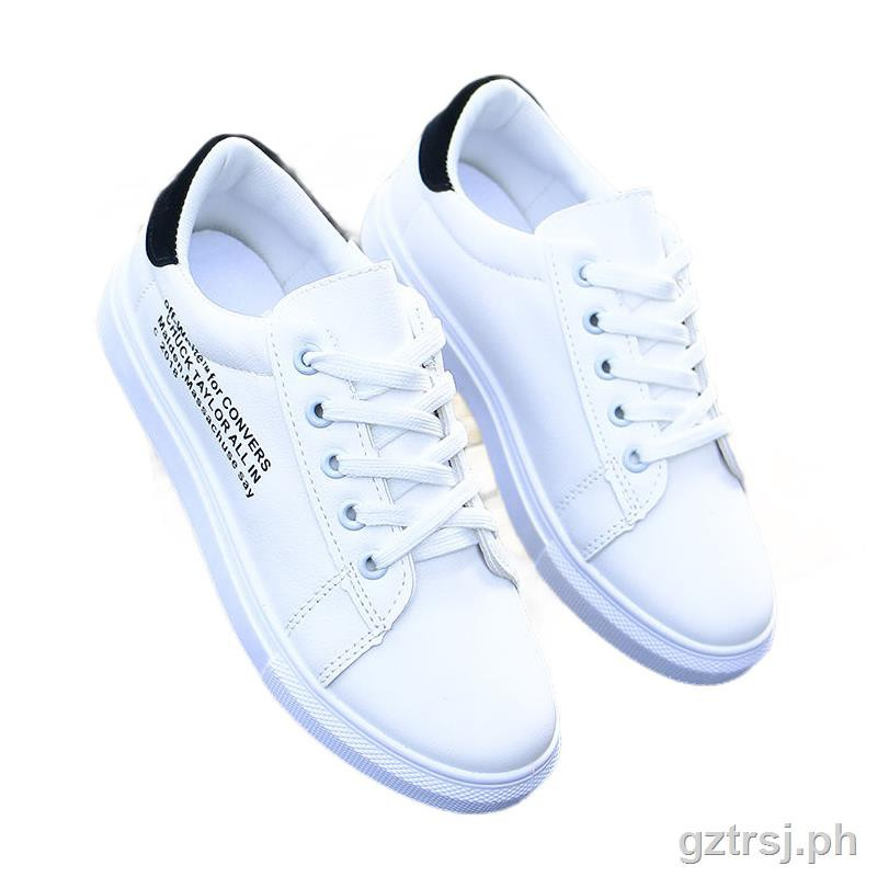 Women Students Sports Gym Shoes Low Tops Solid Soft Sole Breathable Sneakers