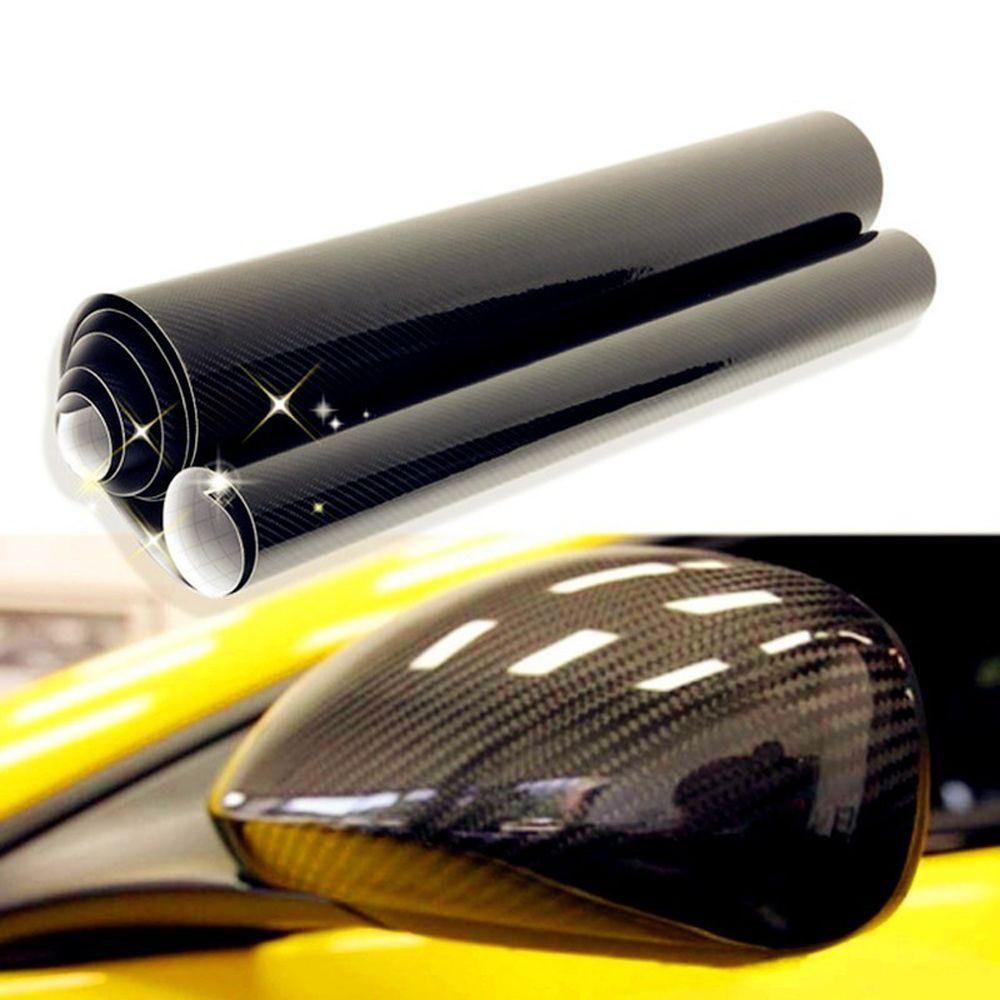 5D Car Sticker Film Carbon Fiber Decal Color Changing Wrap Vehicle 4x12 | Shopee Philippines