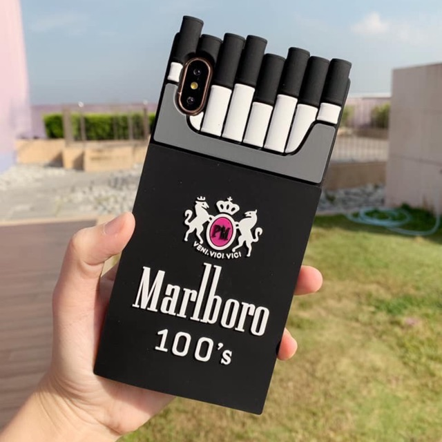 Marlboro cigarette case iPhone 5 6 6p 7 8 7p 8p X XSMax XR