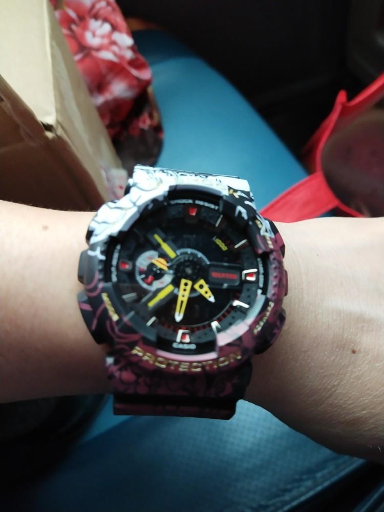 New One Piece Casio 100% original GA-110GB/110 men's watch G-SHOCK sports watch men's electronic ...