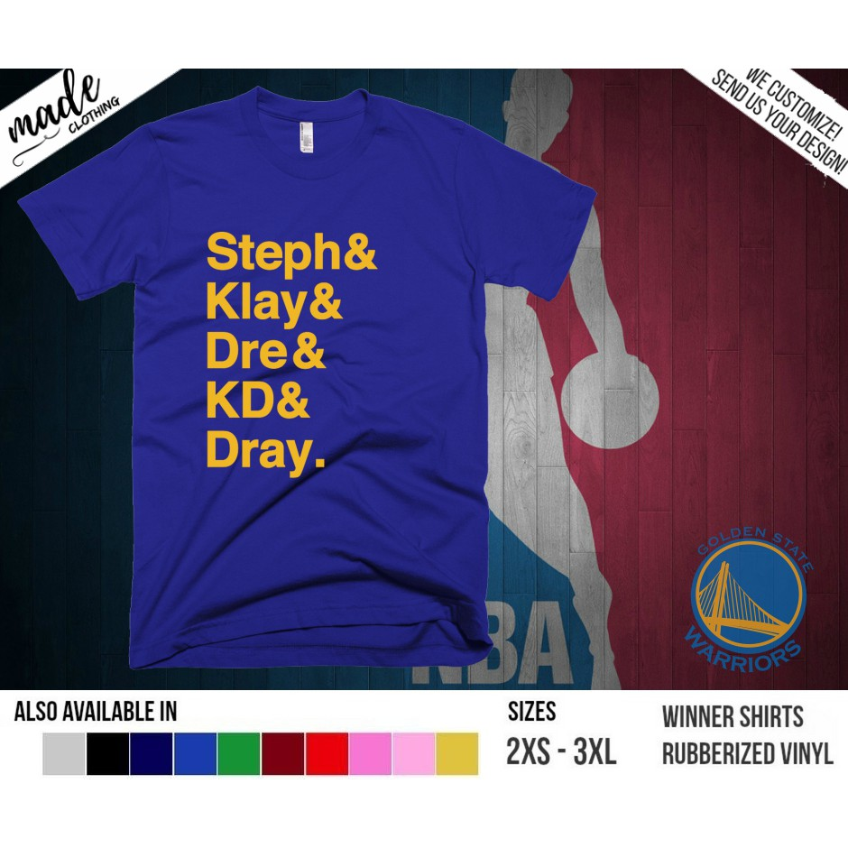 cd807d6f170 NBA Golden State Warriors - Inspired Logo Shirt