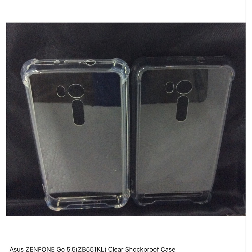low priced f1175 3a7be ASUS ZENFONE Go 5.5(ZB551KL) clear shockproof Case