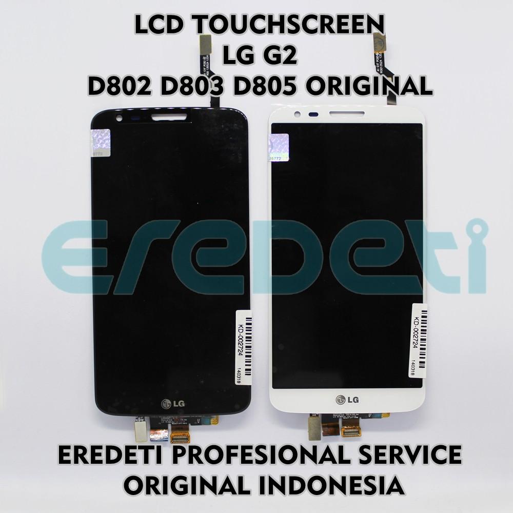 Lcd Touchscreen Lg G2 D802 D803 D805 Original Kd Hayu 002724 Shopee Philippines