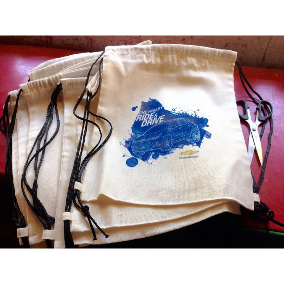 Canvas Drawstring bags Personalized (wholesale retail)  08a90b7087