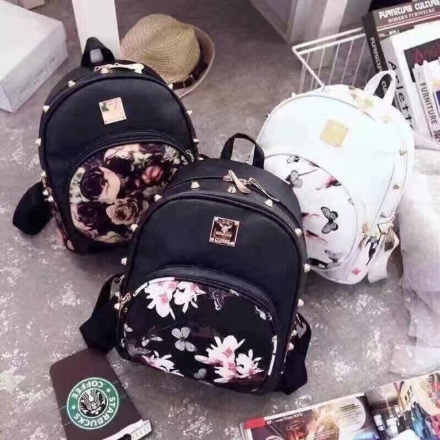 Yazi 2147 Loli Korean Backpack Shopee Philippines
