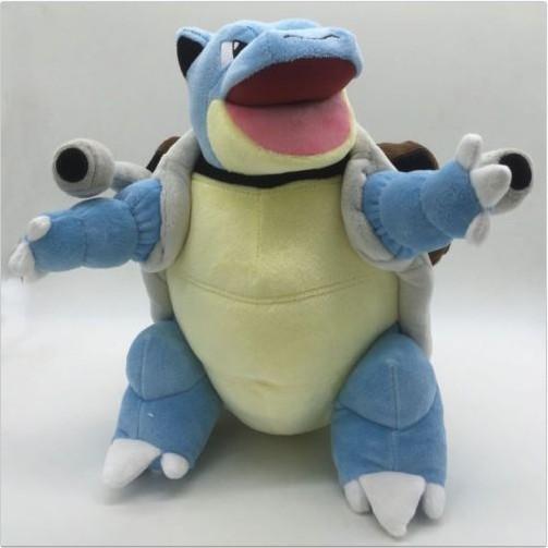 Pokemon Mega Blastoise Plush Doll Figure Soft Stuffed Animal Toy 12 inch Gift