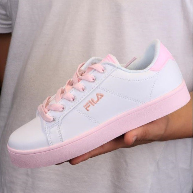 2018 fila women casual pink original running shoes