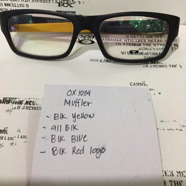 e71ed745668b3 Oakley muffler eyeglasses