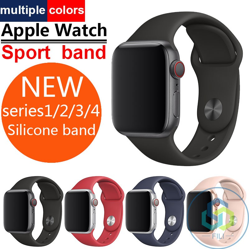 Apple Watch Sport Band 40mm 42mm 44mm Series 1/2/3/4 strap