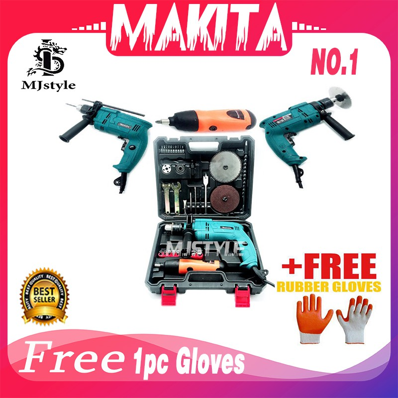Drill saw66138 Makita electric hand Drill And Saw Tools Set