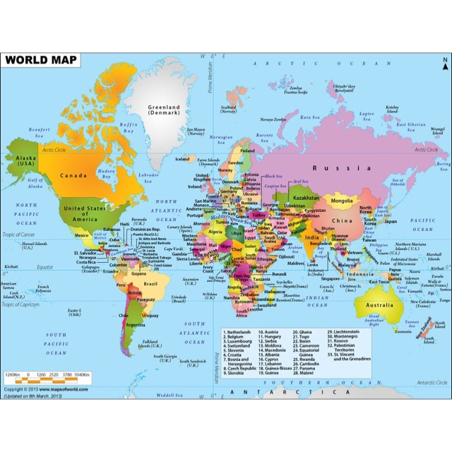 Map Of The World Shopee Philippines