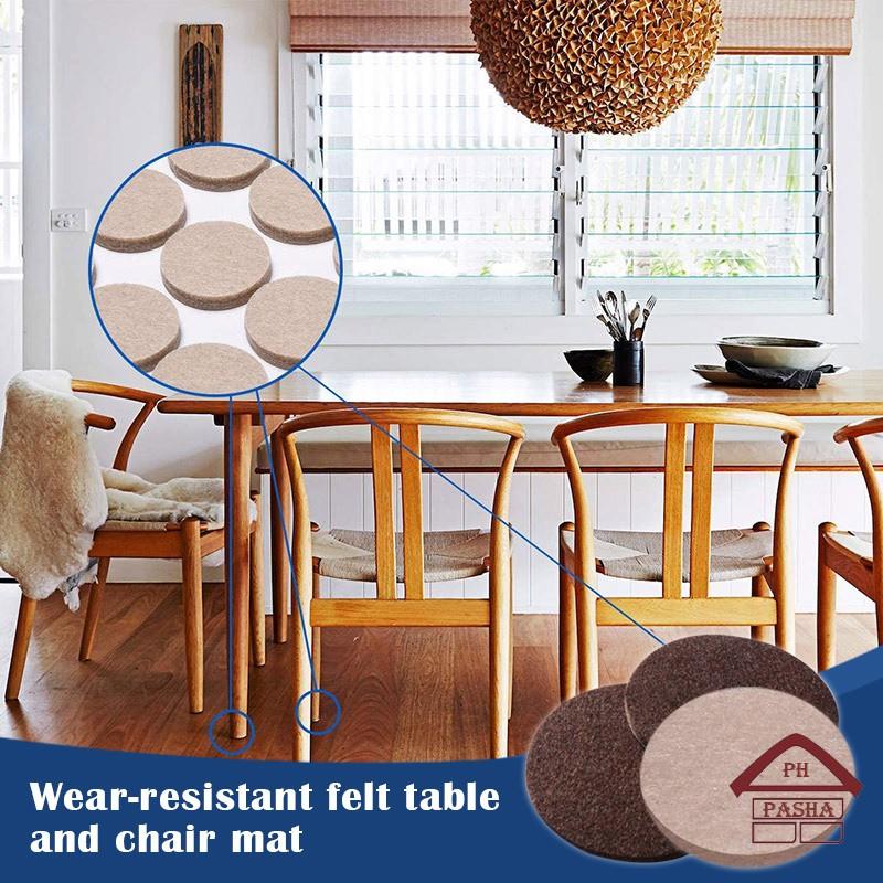 Furniture Pads Felt For, Hardwood Floor Protectors For Furniture