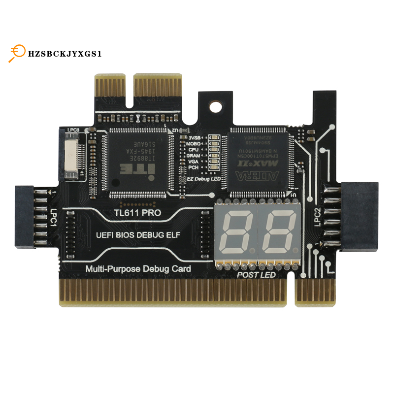 Multifunction Diagnostic Card Tl611 Pro Pci E Lpc Motherboard Diagnostic Test For Laptop Computer Mobile Phone Shopee Philippines