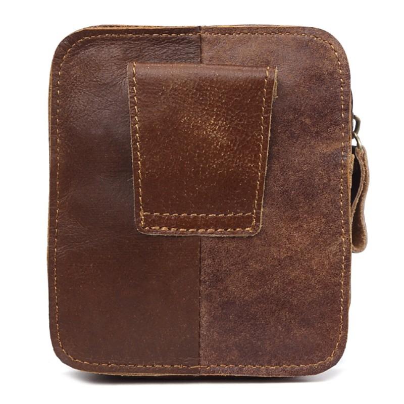 6c7be58b57cc Men Vintage Casual Fanny Bum Pack Zipper Waist Bag Belt Travel Outdoor Pouch