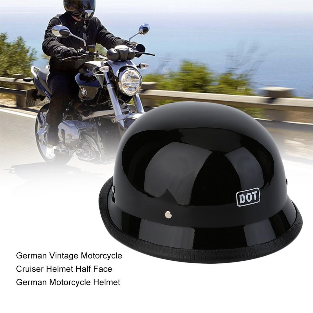 02e3b59ee3018 Unisex Motorcycle Helmet with Goggles Half Face Skull Cap Sunscreen Helmet