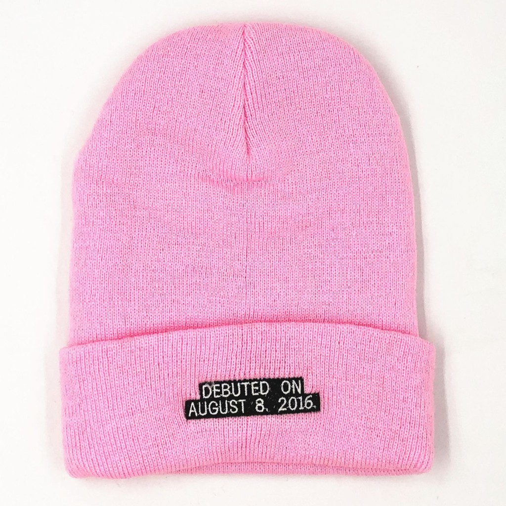 for whole family biggest discount on wholesale KPOP BLACKPINK IN YOUR AREA 2019 BEANIE Pink Concert Knit Cap ...