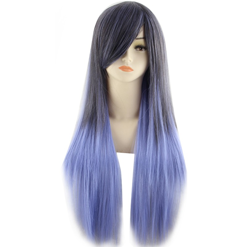 80cm Fashion Colorful Cosplay Long Curly Hair Extensions Wig Masquerade Party Halloween Christmas | Shopee Philippines