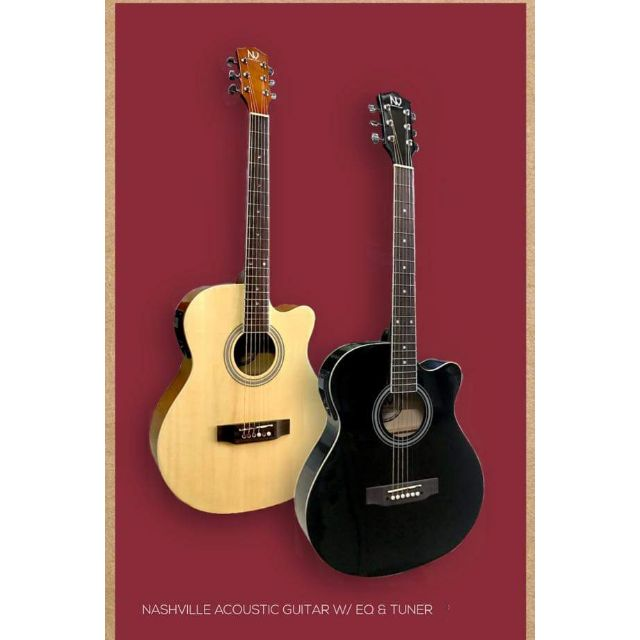 Nashville Acoustic Guitar with pickup