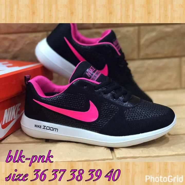 huge selection of aa25e 46de9 Nike Rubber Shoes Black/Pink