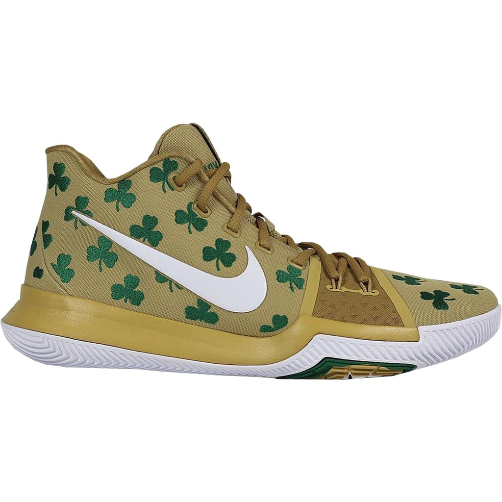 """2d9a90f3c5c Nike Kyrie 4 """"Celtics"""" PE Green White"""