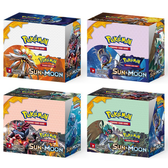 Pokemon Sun Moon Booster Box MEGA EX GX Cards TCG Party