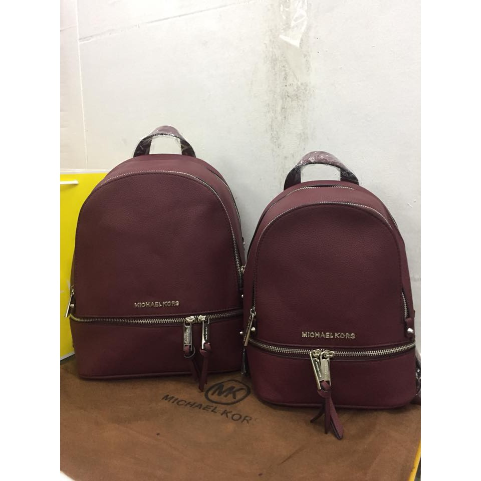 86b1d6959c22 Michael Kors Rhea Medium Backpack | Shopee Philippines