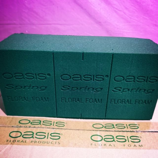 2 items 1 brick tray /& 1 oasis brick choose from wet or dry 4 artificial//fresh