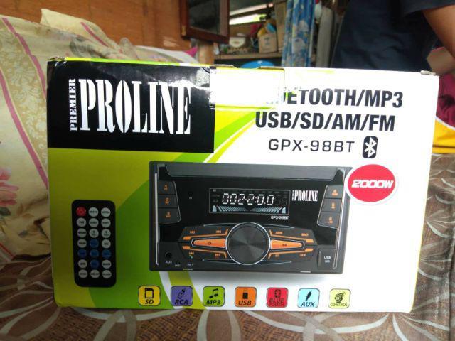 Proline GPX-98BT 2 Din Car Stereo w/ Bluetooth | Shopee