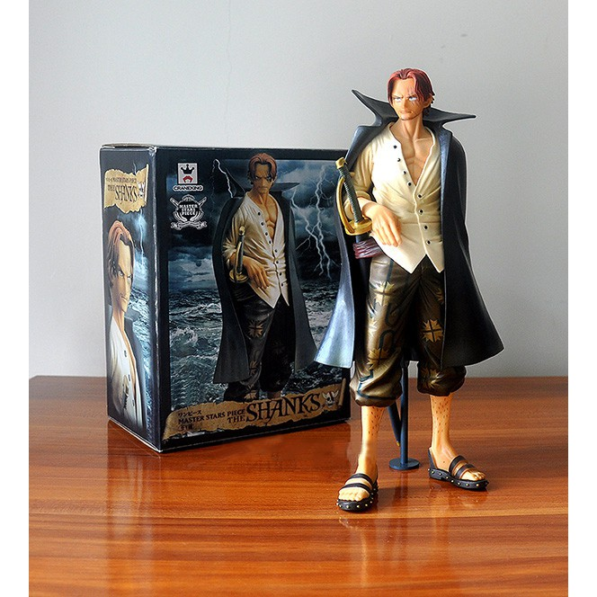 One Piece Shanks Action FigureS Anime Cartoon Collectible