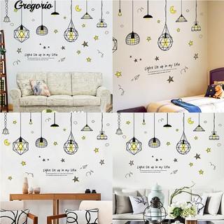 Cod Gregorio Modern Star Moon Wallpaper Background Baby Room