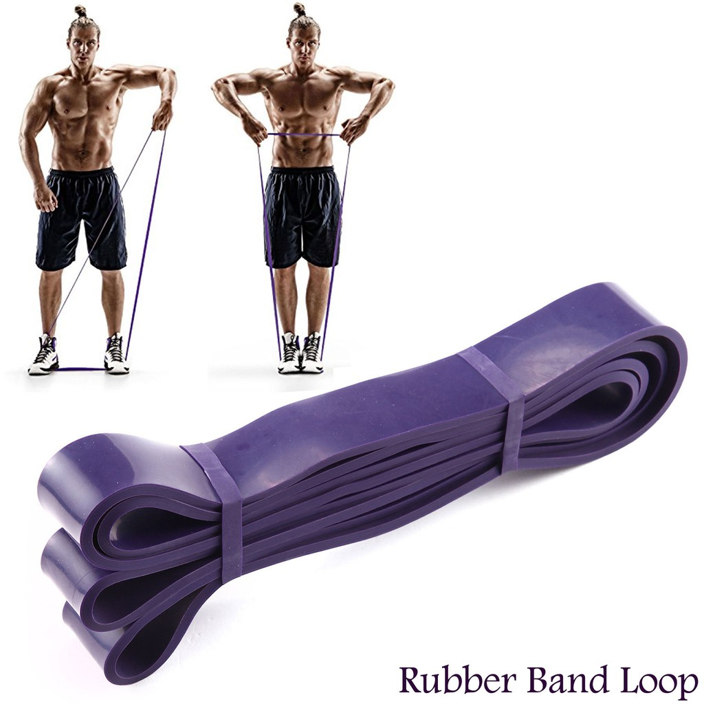 Pull Up body Fitness Resistance Rubber loop Band