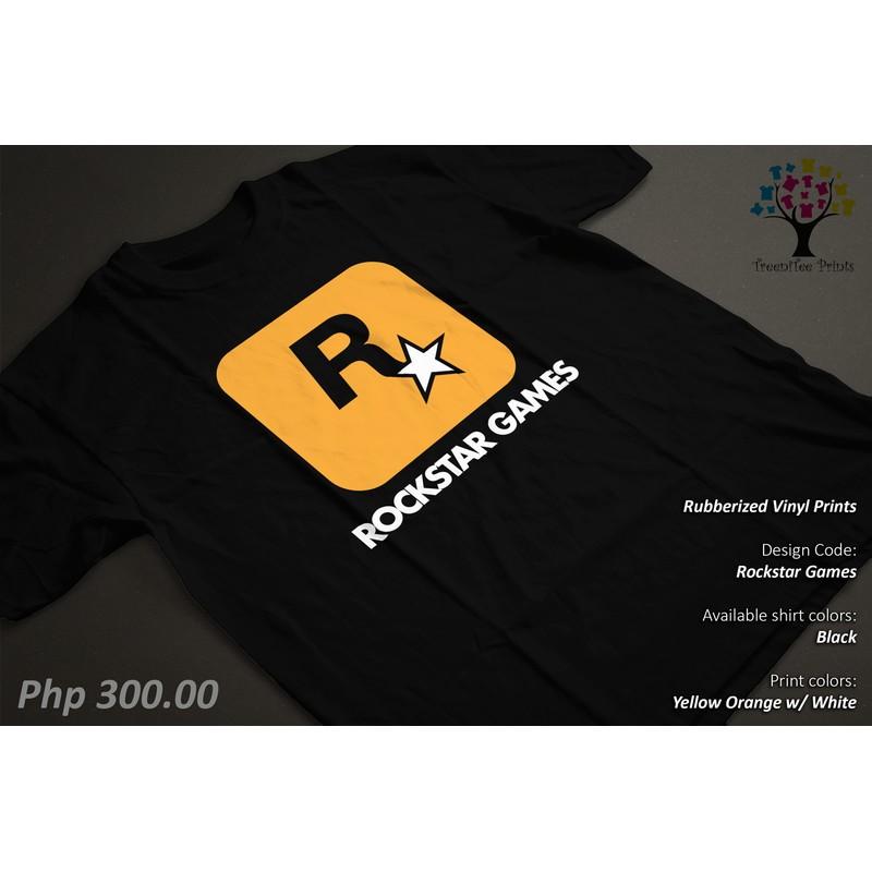 Rockstar Games Gamer Shirt/Tshirt/Tee