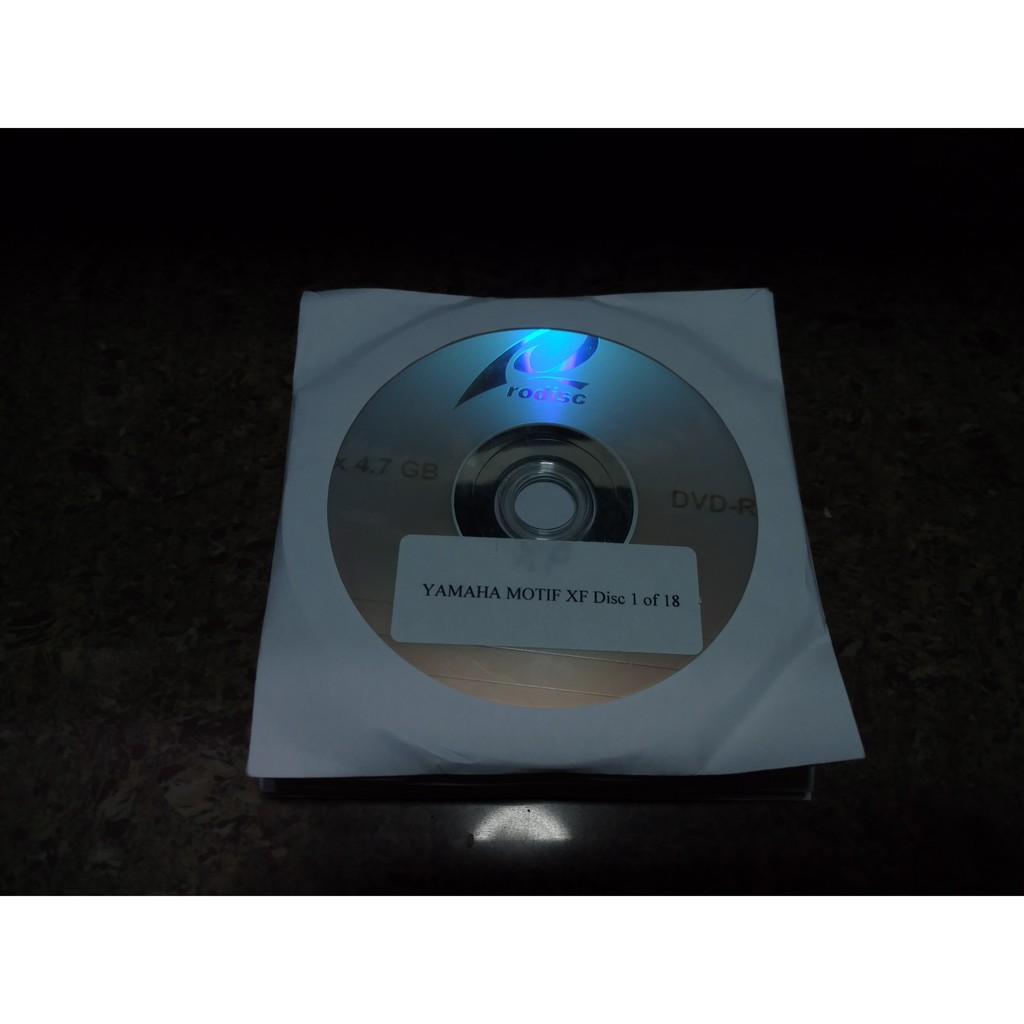 Yamaha Motif XF 24 Bit Samples Kontakt Reason Logic Apple