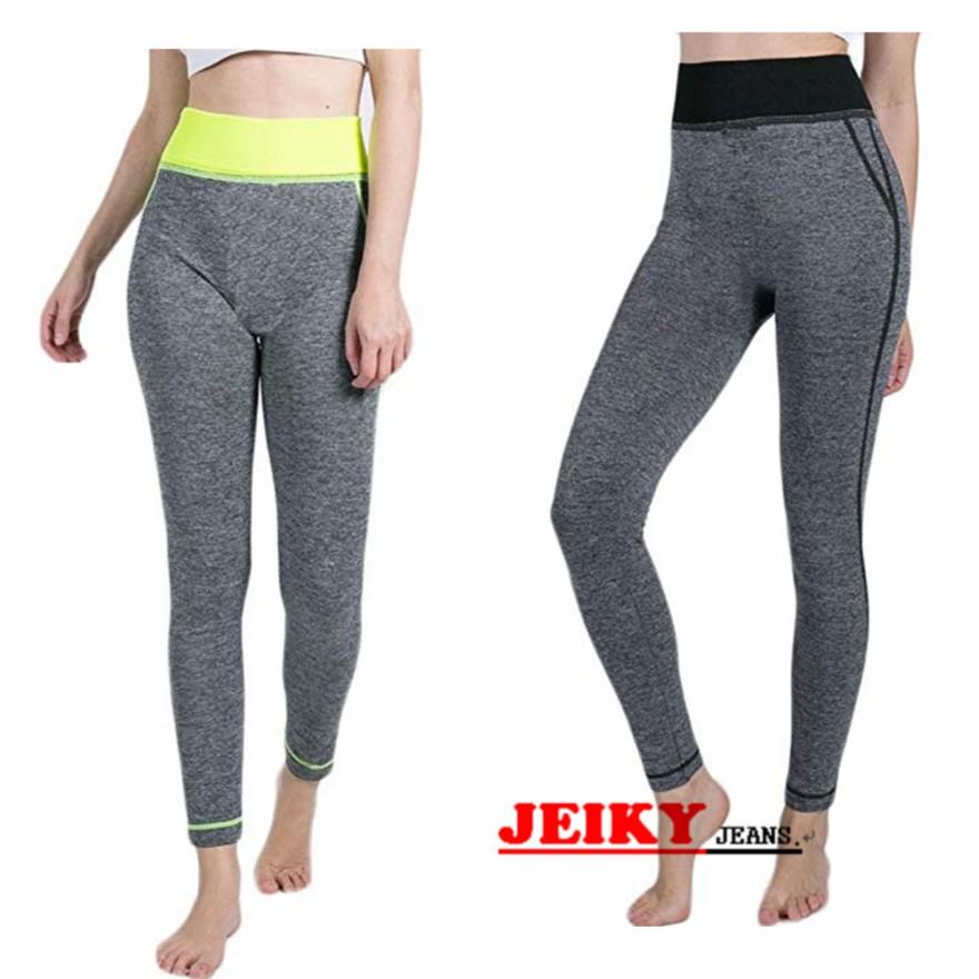JY. Ladies Garter HighWaist Workout Yoga Pants/Yoga