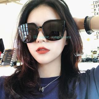 Classic half frame polarized semi-borderless sunglasses retro metal female men driving (96)