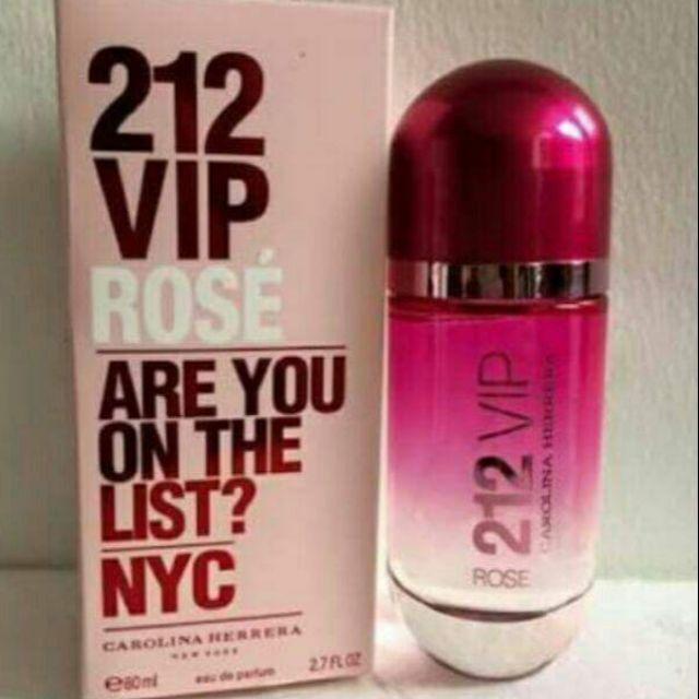 6205f08667 212 vip rose pink | Shopee Philippines
