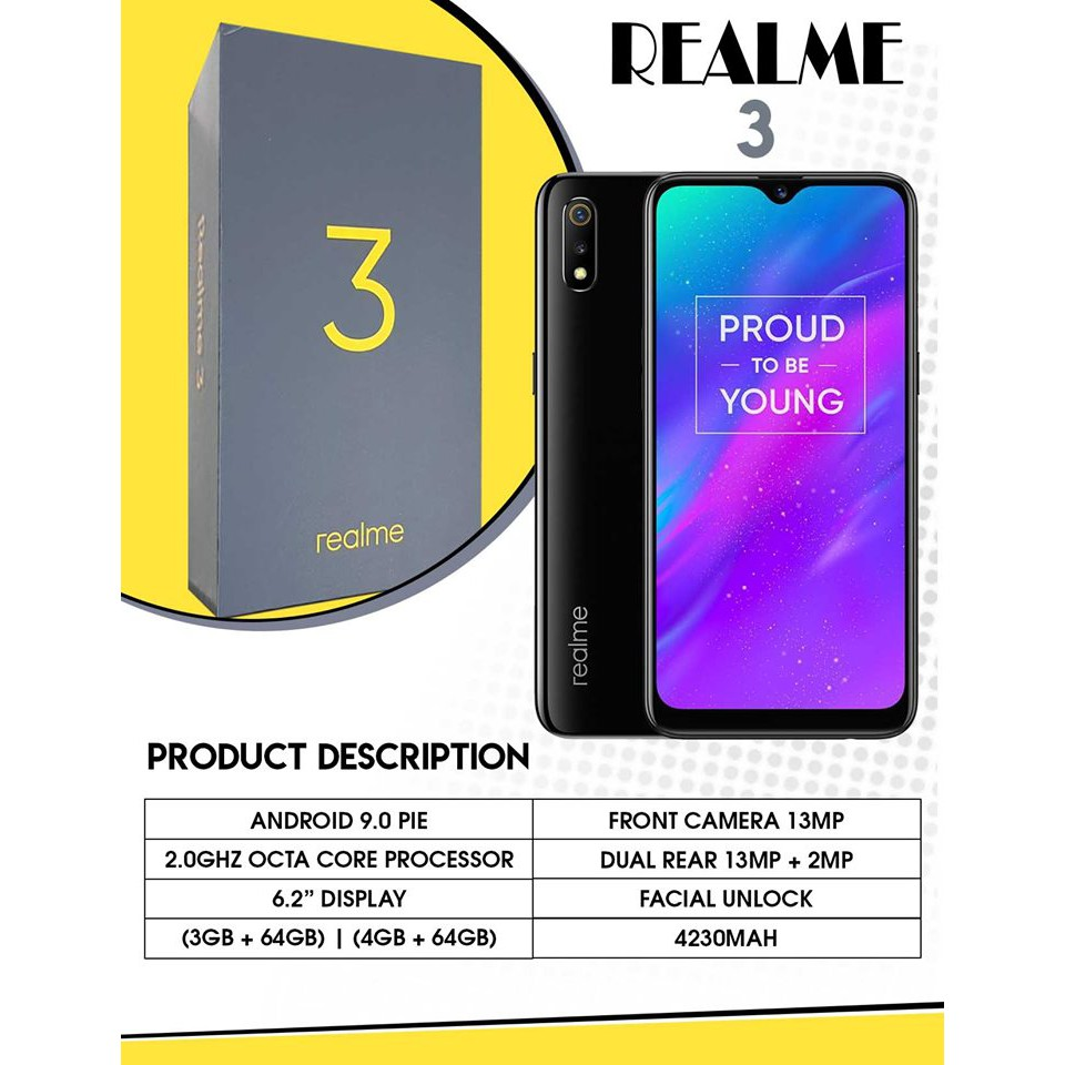 REALME 3 Android Phone