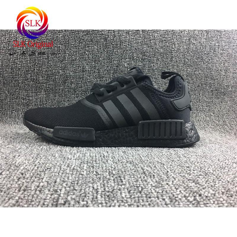 9fc7b3fdf SLK Original ☆ adidas NMD R1 Men Shoes Women Professional Running Shoes