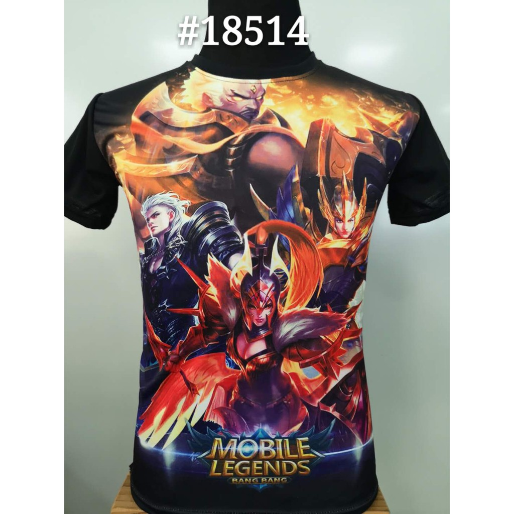New Arrival Mobile Legends Heroes T-shirt